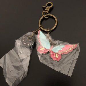 Sakroots Enamel Butterfly Keychain Charm! NWOT!